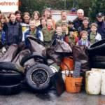 Müllsammeltag in Berg