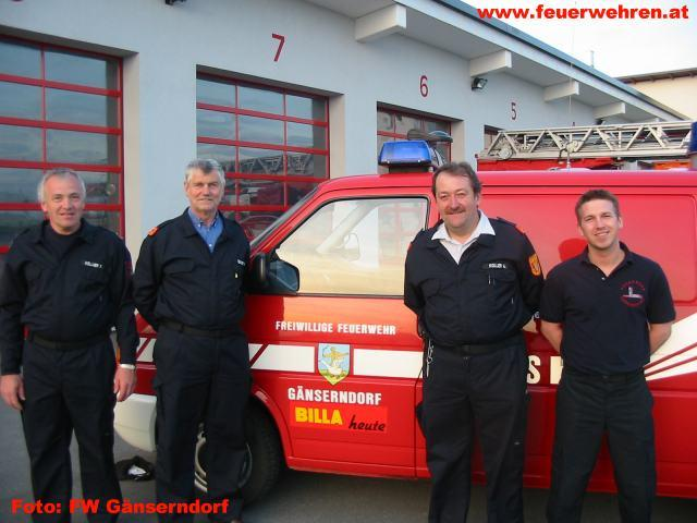 Rewe Austria unterstützt die FW Gänserndorf