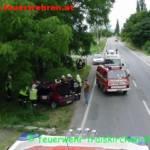 Personenrettung nach Verkehrsunfall