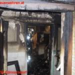 Pensionistin vor Flammen gerettet