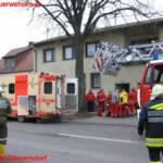 Feuerwehr rettete 40-Jährige