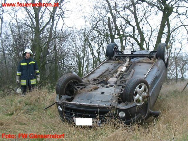 Glatteisunfälle in Gänserndorf