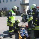 Schauübung Verkehrsunfall mit Schadstoff