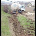 Schwierige LKW Bergung auf der A8