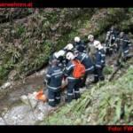 Menschenrettung im Badlgraben