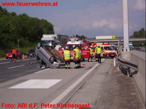 Mehrere Unfälle auf der A2