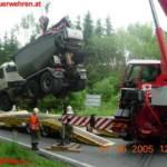 LKW Unfall in Ranshofen, Bez Braunau 4
