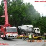 LKW Unfall in Ranshofen, Bez Braunau 5