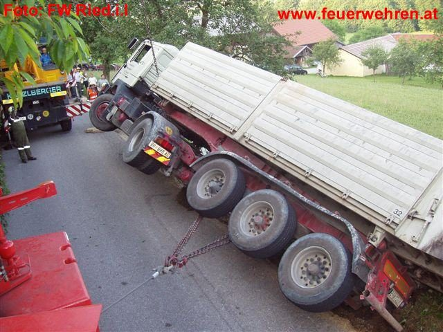 LKW Unfall in Mettmach