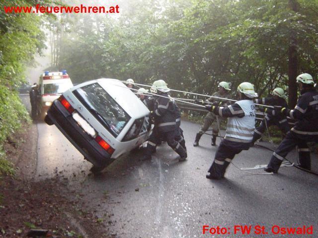 """Verkehrsunfall am """"Oswalderberg"""""""