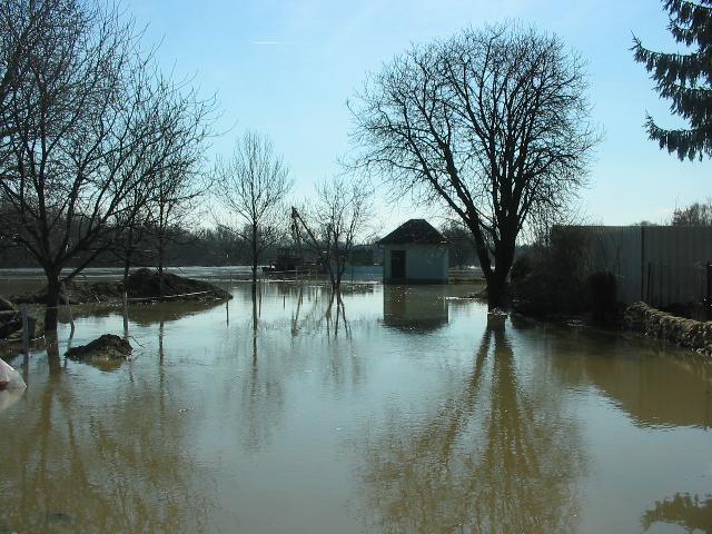 Hochwasseralarm im Bezirk Gänserndorf