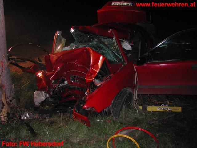 Verkehrsunfall auf der B48