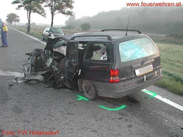 Tödlicher Verkehrsunfall auf der B7