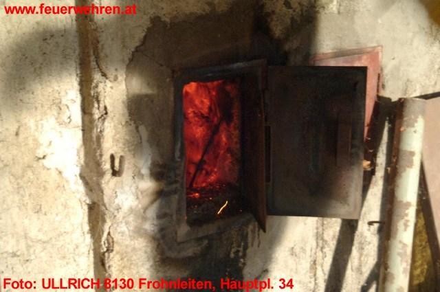 Kaminbrand in Frohnleiten