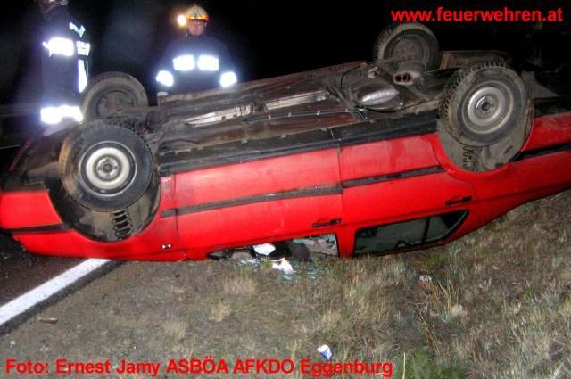Verkehrsunfall bei Eggenburg