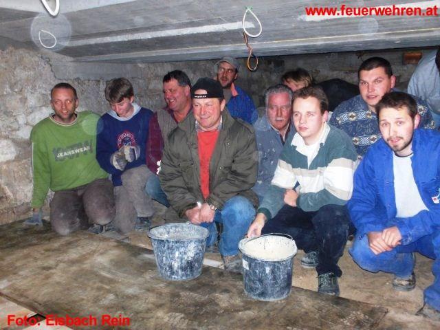 Arbeitseinsatz der FW Eisbach Rein