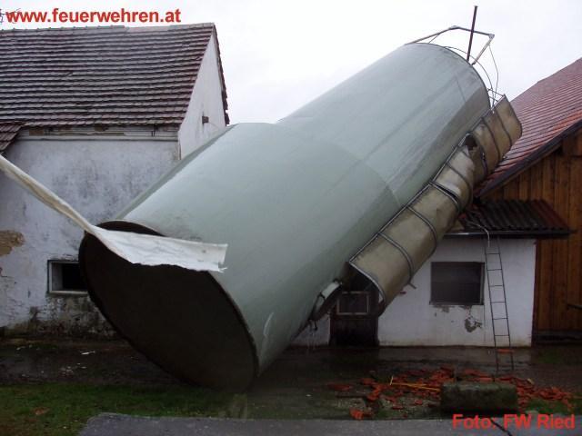 Sturm und Hochwassereinsätze