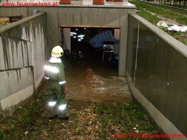 Unwetter- Hochwassereinsätze