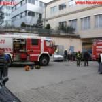 E-Verteiler Brand im Krankenhaus