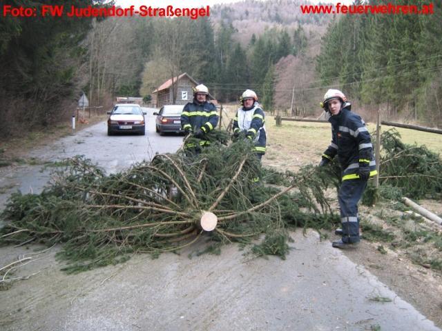 Sturmeinsatz in Judendorf
