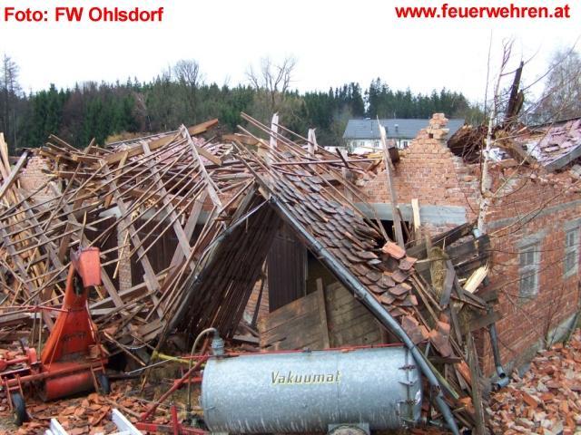 Orkan Emma verwüstete Ohlsdorf