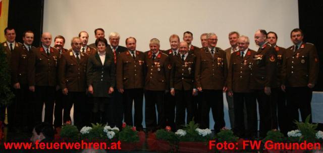 Bezirksfeuerwehrtag 2009 in Steyrermühl