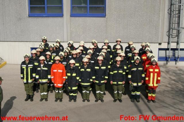 Truppführerlehrgang 2009 des Abschnittes Gmunden