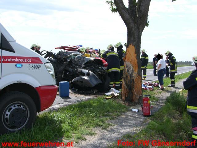 Verkehrsunfall auf der L9