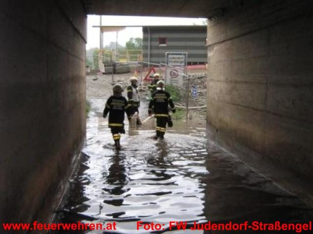 Schwere Unwetter in Graz-Umgebung