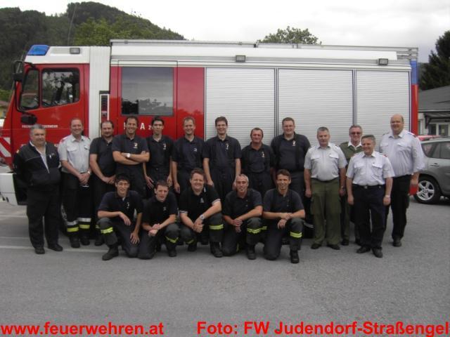 Branddienstleistungsprüfung erfolgreich durchgeführt