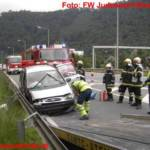 Verkehrsunfall auf der L302 Graz-Judendorf