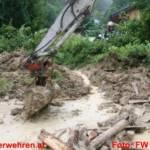 Hochwasser im Bezirk Gmunden