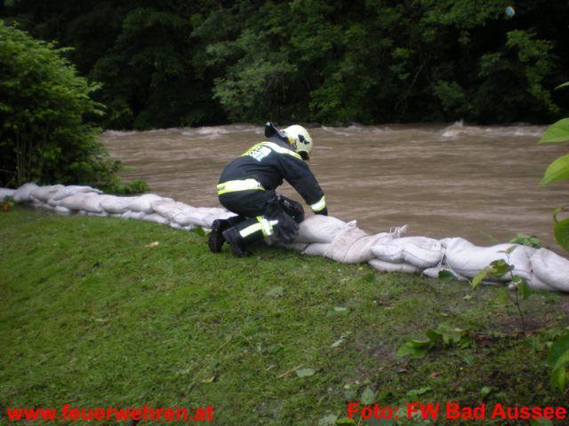 Hochwasser im Bezirk Liezen