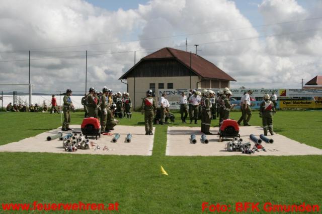 Bezirksfeuerwehrleistungsbewerb in Roitham