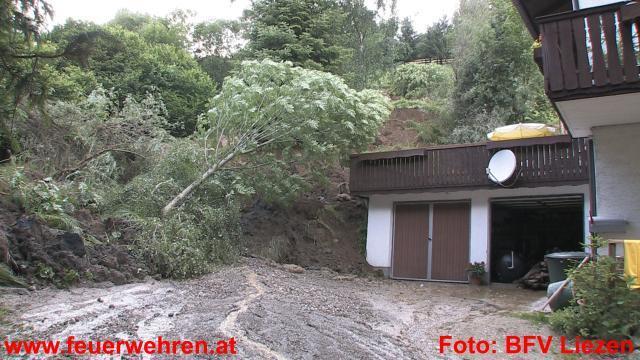 Murenabgang in Gröbming