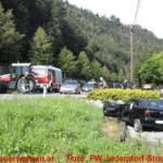 Schwerer Verkehrsunfall auf der L302