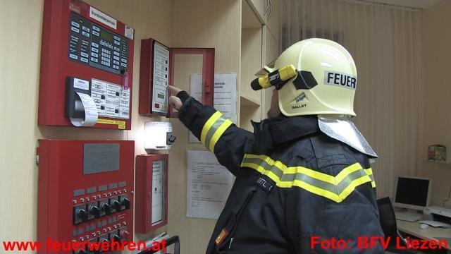 Einbrecher lösten Brandmeldealarm für die FF Gröbming aus