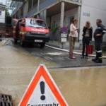 Nächtliches Unwetter über Graz hält die Feuerwehren in Atem