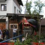 Einsatzübung der Rettungsorganisationen mit Pferden