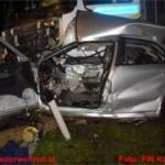 Schwerer Verkehrsunfall Eibergstrasse