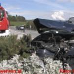 Frontalkollision bei Gröbming fordet 2 Verletzte