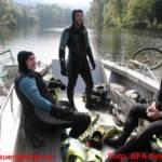 BFK Gmunden: 100 Feuerwehrtaucher reinigten den Traunsee 12