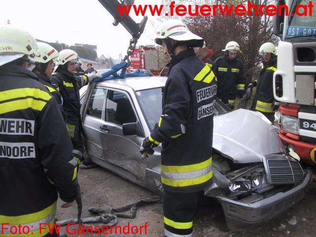 Verkehrsunfall mit 6 Personen