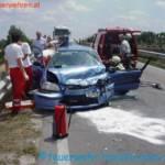 Verkehrsunfall auf der Trumauer Strasse