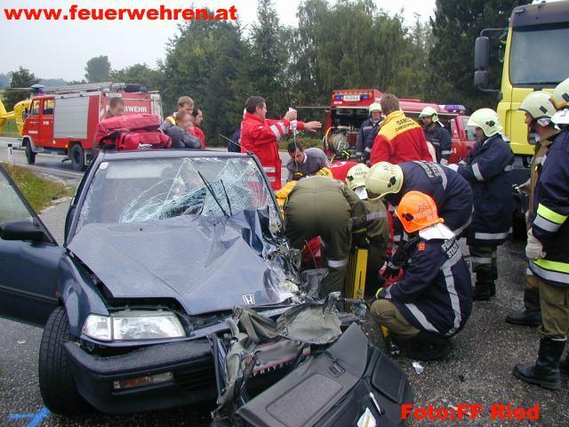 Verkehrsunfall in Geiersberg