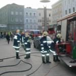 Geschäftsbrand am Hauptplatz