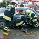 Schauübung - Verkehrsunfall der FW Gänserndorf