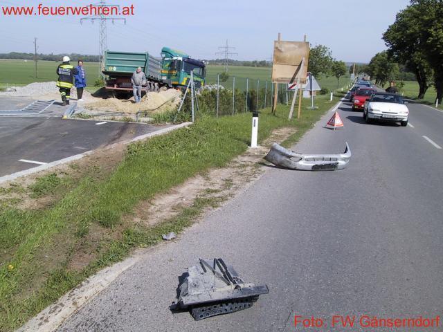 Unfallserie in Gänserndorf