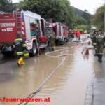 Feuerwehr Gänserndorf im Katastropheneinsatz
