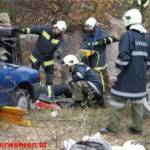 Feuerwehren der Stadt Ternitz übten im Steinbruch